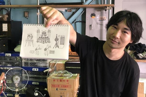ARTWORKSレポート:和田永、滞在制作スタート!